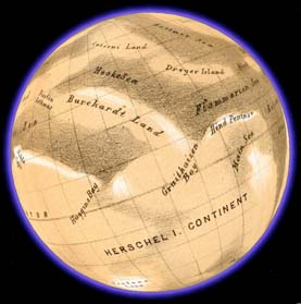 image de mars par Google Earth