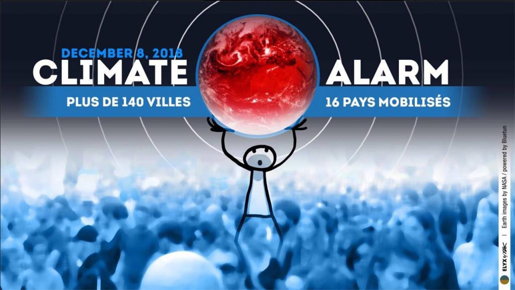 Marche mondiale pour le climat Paris