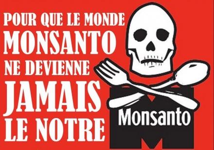 Marche internationale contre la firme Monsanto