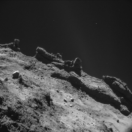 Rosetta-Philae : Les images de la comète Tchouri