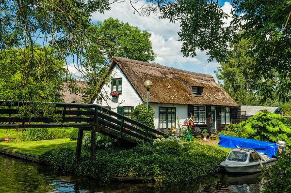 bateau Giethoorn
