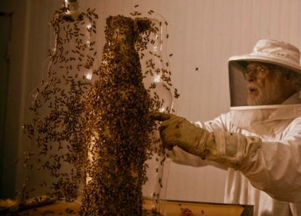 Les abeilles font de l'impression 3d