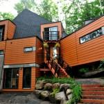 Maison en container design