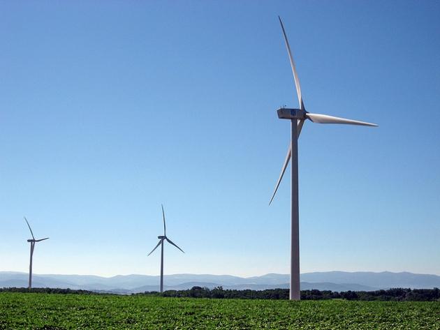 L'énergie renouvelable des éoliennes