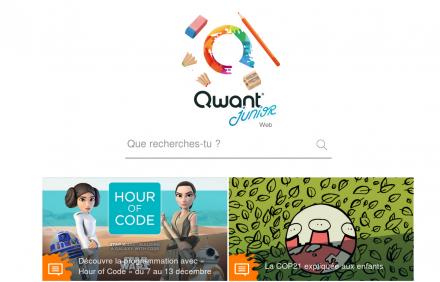 Qwant Junior – Une version pour enfants du moteur de recherche