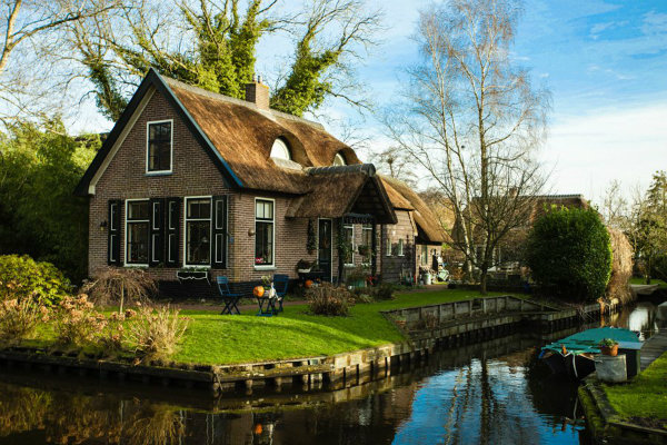 maison pays-bas Giethoorn