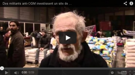 Des militants anti-OGM occupent un site du groupe Monsanto