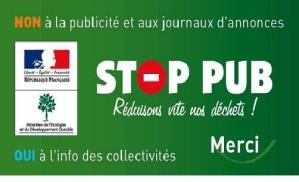 Stop pub a imprimer
