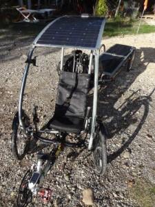 velo solaire autonome