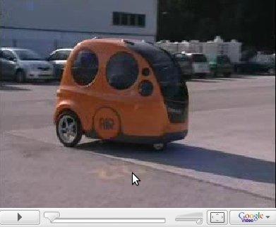 Essai de voiture ecologique pour conduite economique