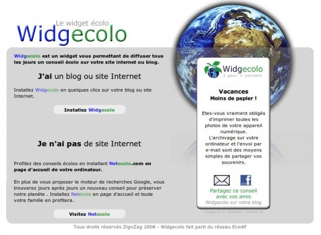 Conseil ecologique pour votre site