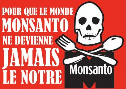Marche internationale contre la firme Monsanto