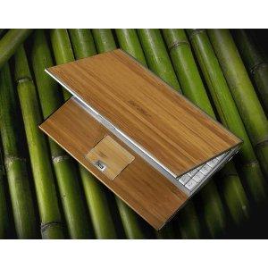 Ordinateur portable Asus en bambou