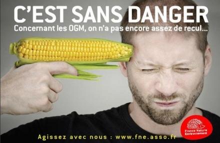 Campagne d'affichage contre les OGM