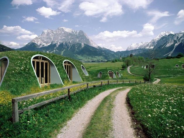 Habitat écologique : Maisons enterrées, écologiques et économiques