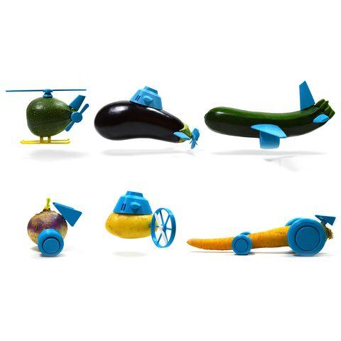 Open toys – Des jouets à base de légumes