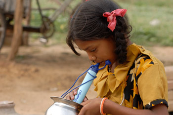 Lifestraw – La paille qui filtre l'eau