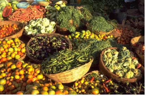 Alimentation de saison : Fruits et legumes de printemps